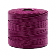 Fil Nylon S-Lon 0.6mm rouge vin