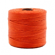 Fil Nylon S-Lon 0.6mm rouge dusty-orange