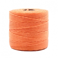 Fil Nylon S-Lon 0.6mm orange pêche