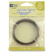 14 Gauge Artistic Wire laiton antique