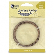 16 Gauge Artistic Wire laiton antique
