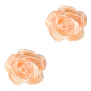 Perles roses 6mm blanc-fresh peach pearl shine