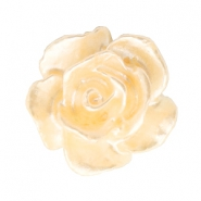 Perles roses 10mm blanc-abricot butter pearl shine