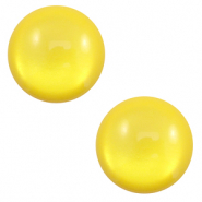 Cabochon classique 12mm Polaris Elements soft tone shiny Jaune empire