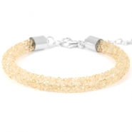 Bracelets Crystal Diamond 7mm Bisque beige