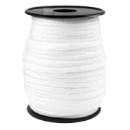 Paracord rond 4mm blanc