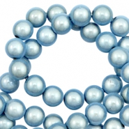 Perles Miracle 3D 12mm bleu glace