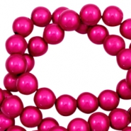 Perles Miracle 3D 6mm rose fuchsia