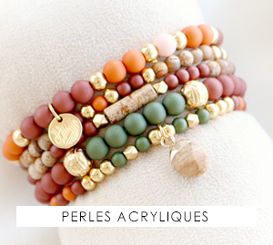 Perles acryliques