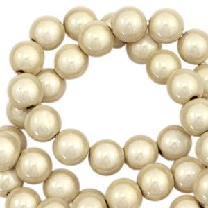 Perles Miracle 3D 8mm beige champagne
